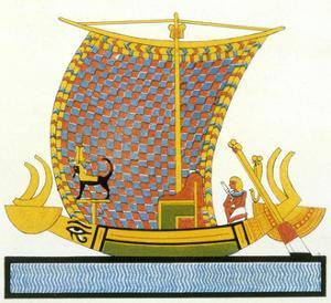 Ancient Egyptian Galley
