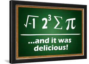 And It Was Delicious Humor Poster