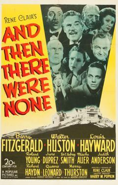 And Then There Were None, 1945