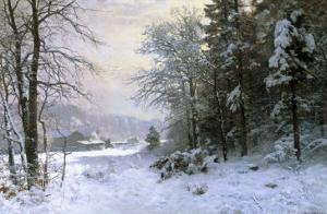 Late Lies the Winter Sun by Anders Andersen-Lundby