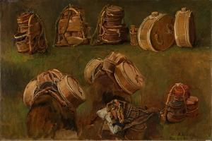 Study of Pack Saddles and Other Objects by Anders Askevold