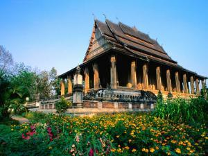 Haw Pha Kaew (Hall of the Jewel Buddha Image), Vientiane, Vientiane Prefecture, Laos by Anders Blomqvist