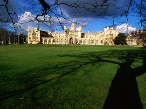 Historic St. John's College, Cambridge, United Kingdom by Anders Blomqvist