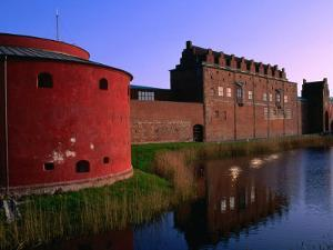 Malmohus Fort (1434) Now Housing a Museum, Malmo, Skane, Sweden by Anders Blomqvist