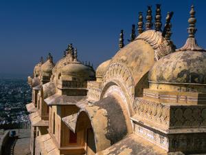 Nahargarh Fort, Jaipur, Rajasthan, India by Anders Blomqvist