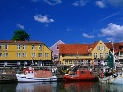 Village Harbour, Svaneke, Bornholm, Denmark by Anders Blomqvist