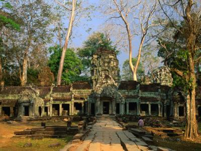 West Entrance of Ta Prohm Temple, Angkor, Siem Reap, Cambodia by Anders Blomqvist