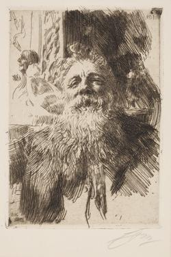 Auguste Rodin by Anders Leonard Zorn