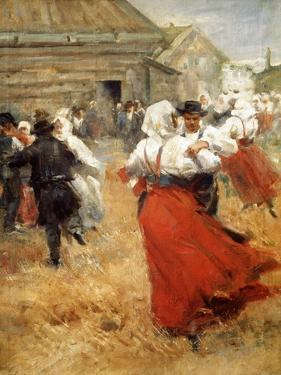 Country Celebration, Late 19th or Early 20th Century by Anders Leonard Zorn