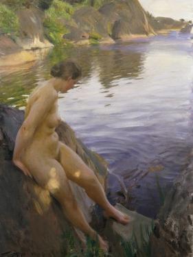 From Sandham; Fran Sandham, 1906 by Anders Leonard Zorn