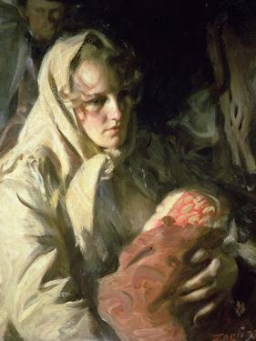 Madonna, 1899 by Anders Leonard Zorn