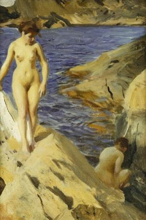 Nudes; Nakt, 1902 by Anders Leonard Zorn