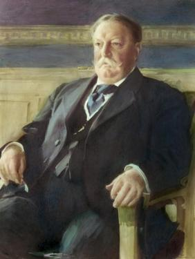 William Howard Taft, (President 1909-1913) by Anders Leonard Zorn