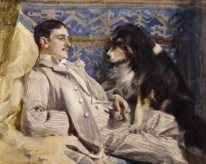 Clarence Barker, 1885 by Anders Zorn