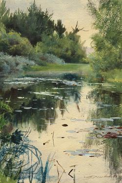 Landscape Study of Mora by Anders Zorn