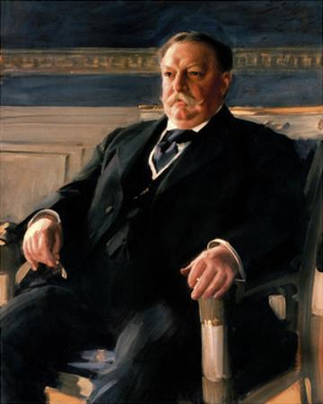 Official White House Portrait of William Howard Taft by Anders Zorn
