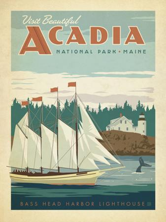 Acadia National Park, Maine by Anderson Design Group