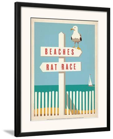 Beaches vs. Rat Race by Anderson Design Group