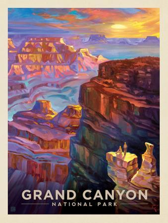 Canyon National Park: Sunset by Anderson Design Group