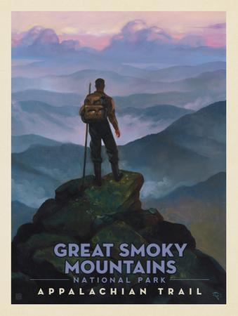 Great Smoky Mountains National Park: Appalachian Trail by Anderson Design Group