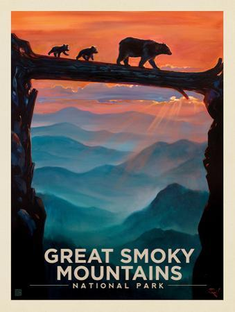 Great Smoky Mountains National Park: Bear Crossing by Anderson Design Group