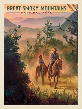 Great Smoky Mountains National Park: Horseback by Anderson Design Group