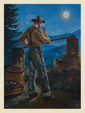Great Smoky Mountains National Park: Moonshiner by Anderson Design Group