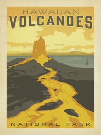 Hawaiian Volcanoes by Anderson Design Group