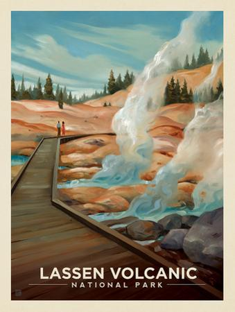 Lassen Volcanic National Park: Warm Regards by Anderson Design Group