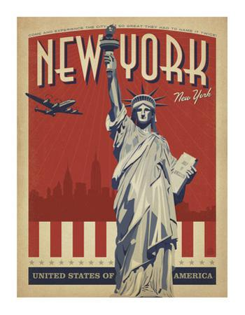 New York, NY (Statue of Liberty) by Anderson Design Group