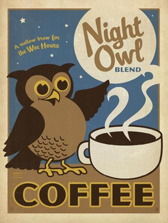 Night Owl Blend Coffee by Anderson Design Group