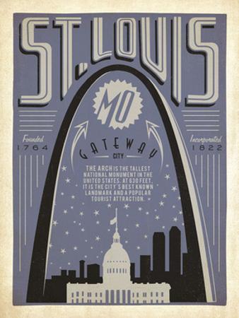 St. Louis, Missouri: Gateway City by Anderson Design Group