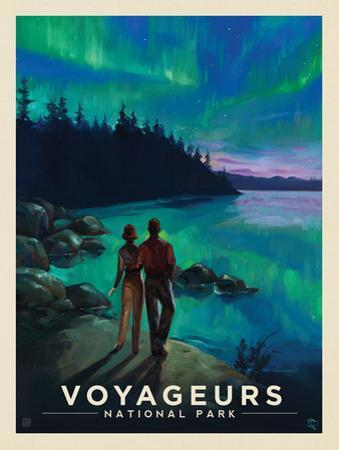 Voyageurs National Park: Northern Lights by Anderson Design Group