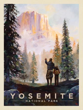 Yosemite National Park: Yosemite Valley by Anderson Design Group