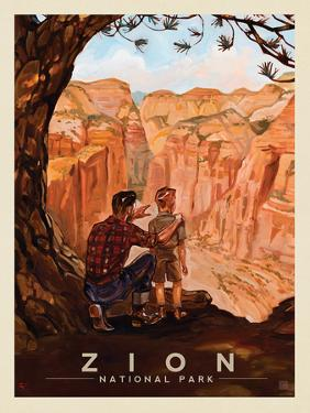 Zion National Park: View From The Top by Anderson Design Group