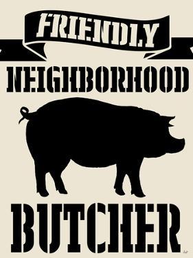 Neighborhood Butcher by Andi Metz