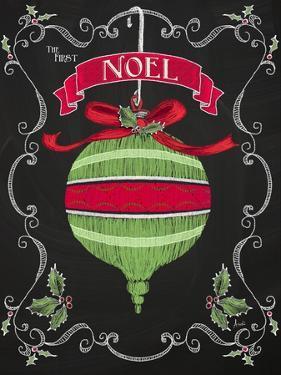 Noel Chalk Art II by Andi Metz