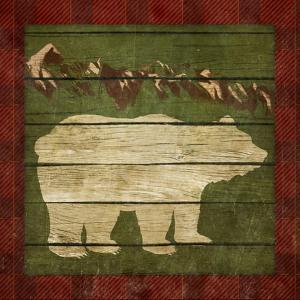 Rustic Nature on Plaid I by Andi Metz