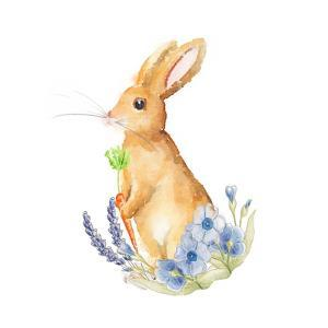 Spring Bunny I by Andi Metz