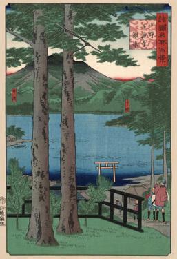 Chuzenji Lake, Shimotsuke by Ando Hiroshige
