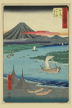 Ejiri by Ando Hiroshige