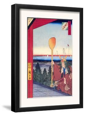 Festival by Ando Hiroshige