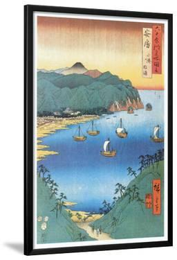 Inlet at Awa Province by Ando Hiroshige