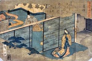 Japan: Tale of Genji by Ando Hiroshige