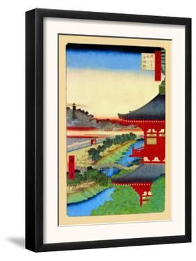 Kameido Shrine by Ando Hiroshige