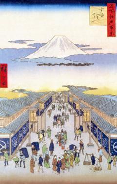Merchants by Ando Hiroshige