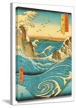 Navaro Rapids by Ando Hiroshige