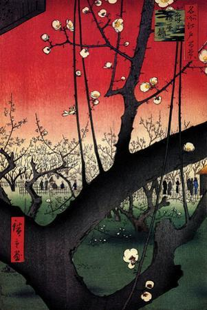 Plum Estate by Ando Hiroshige