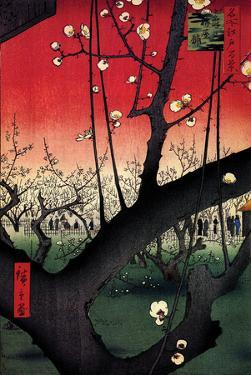 Plum Estate by Ando Hiroshige