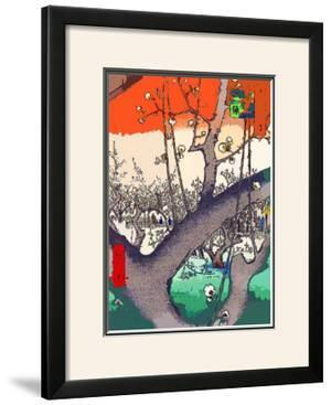 Plum Garden at Kameido by Ando Hiroshige